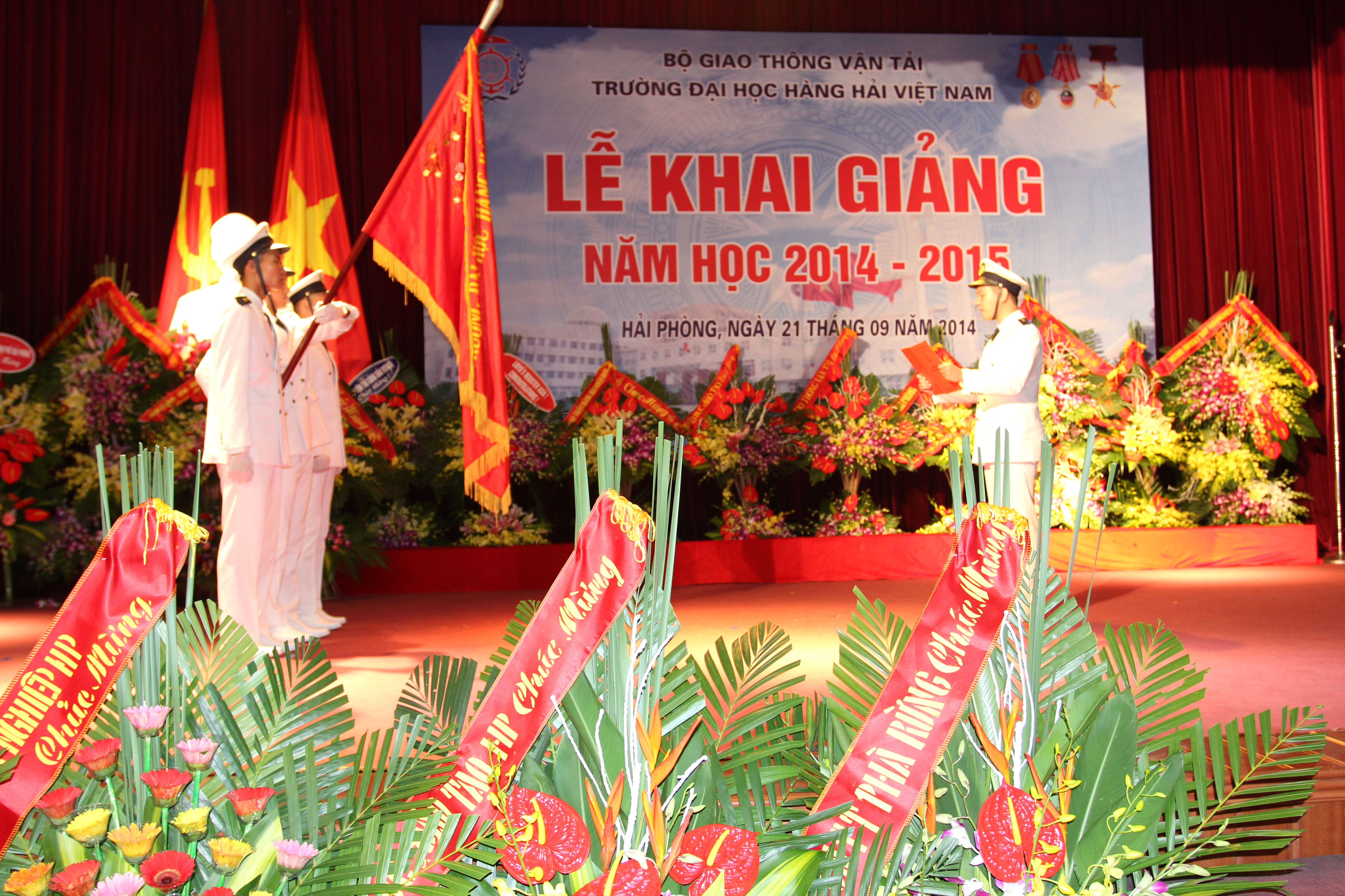 The new academic school year opening ceremony 2014 – 2015 at